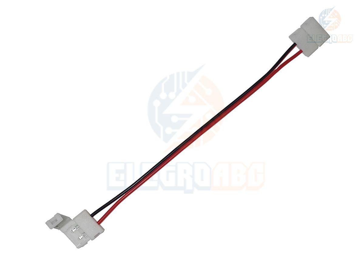 Conector duplo de emenda para fita 5050 10mm com fio