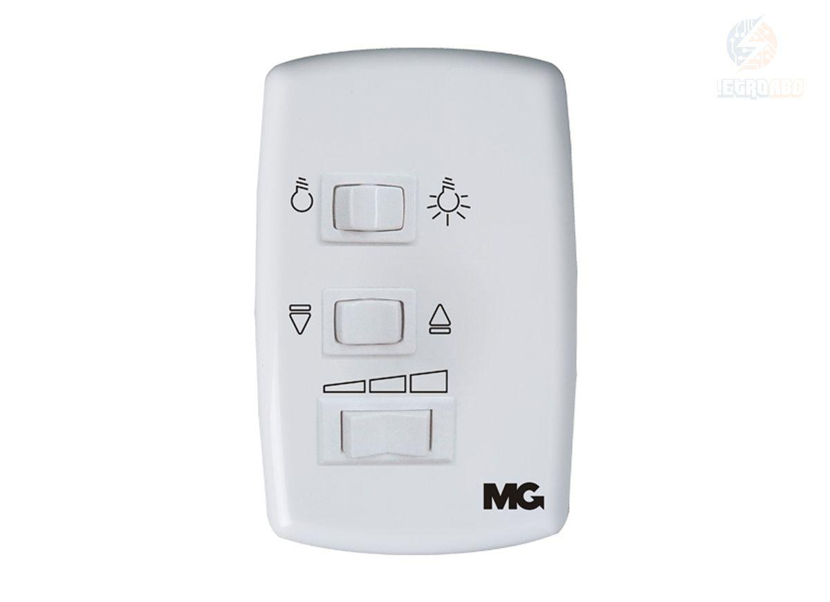 Controle Ventilador de Teto 127V Branco com Cap.