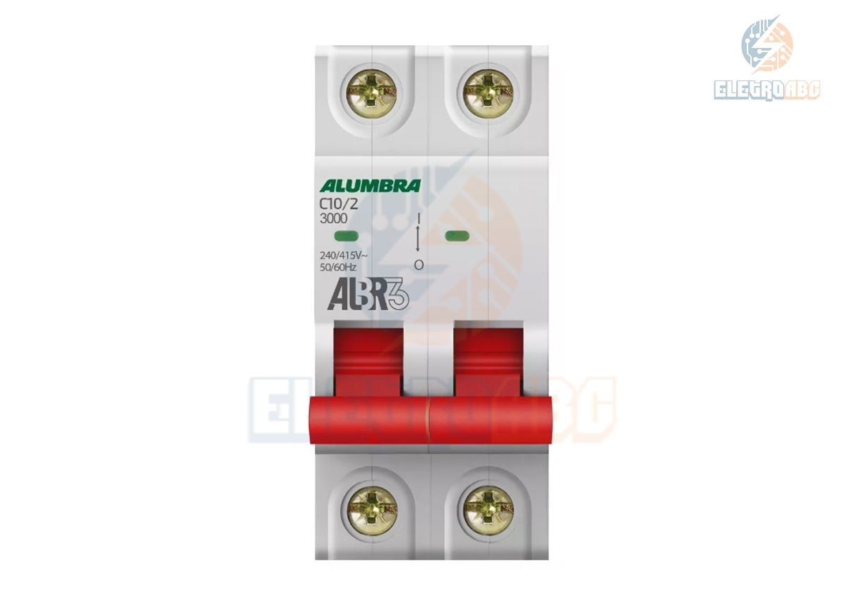 Disjuntor Bipolar ALBR3 C10/2 39341