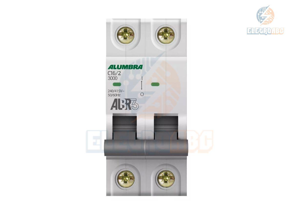 Disjuntor Bipolar ALBR3 C16/2 39342