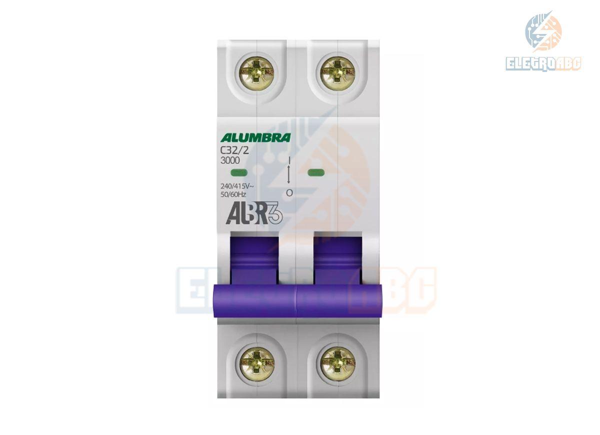 Disjuntor Bipolar ALBR3 C32/2 39345