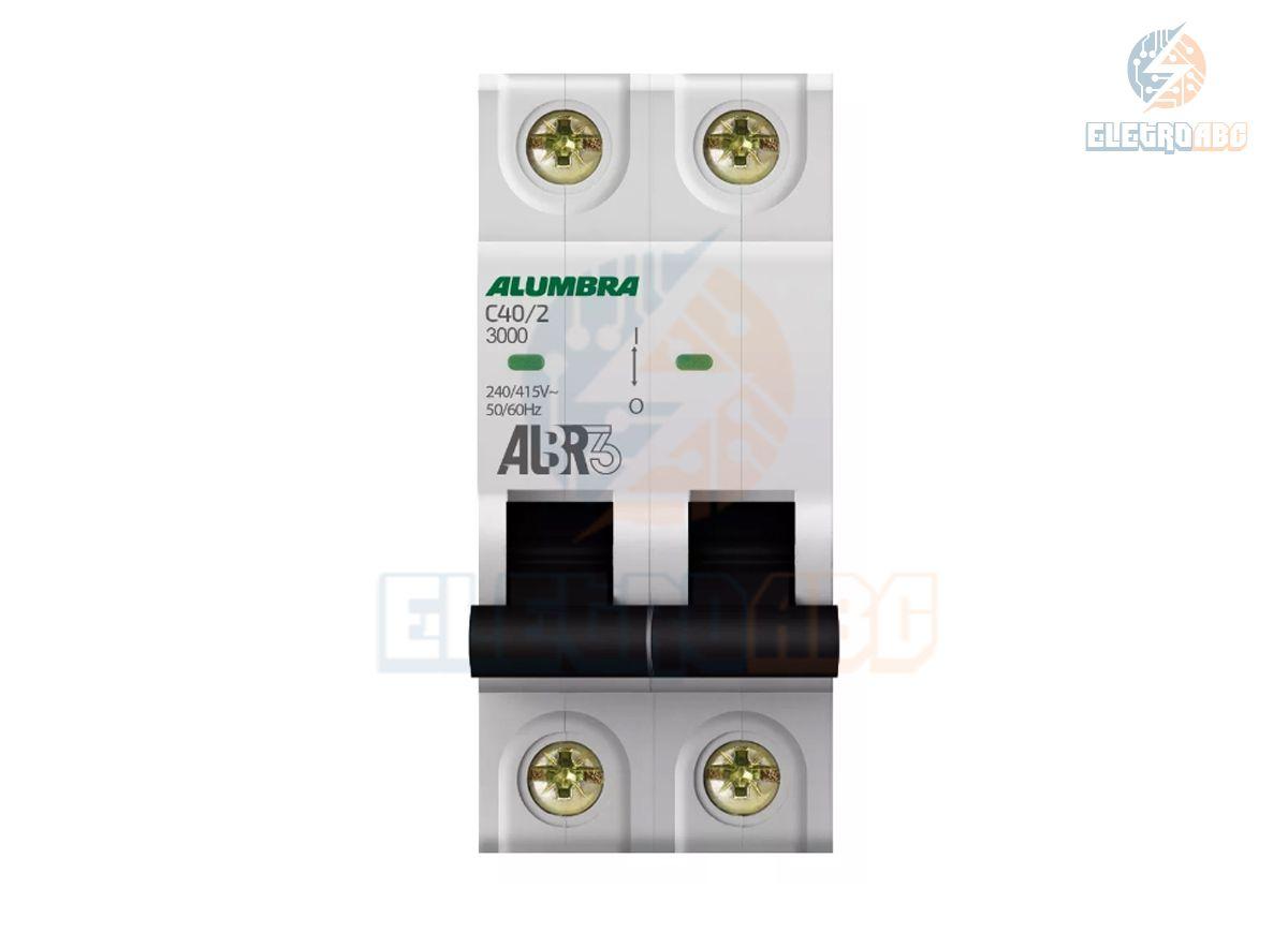 Disjuntor Bipolar ALBR3 C40/2 39346