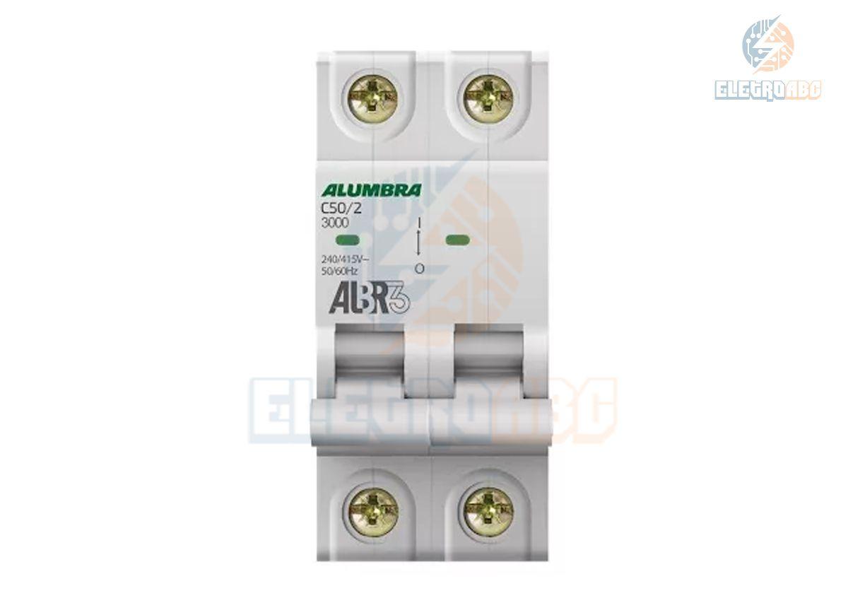 Disjuntor Bipolar ALBR3 C50/2 39347