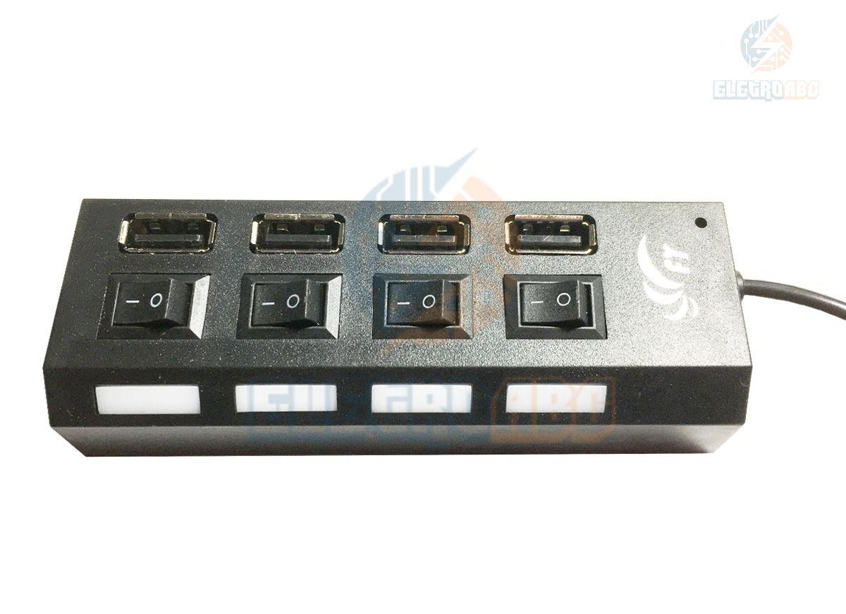 HUB USB 4 saídas