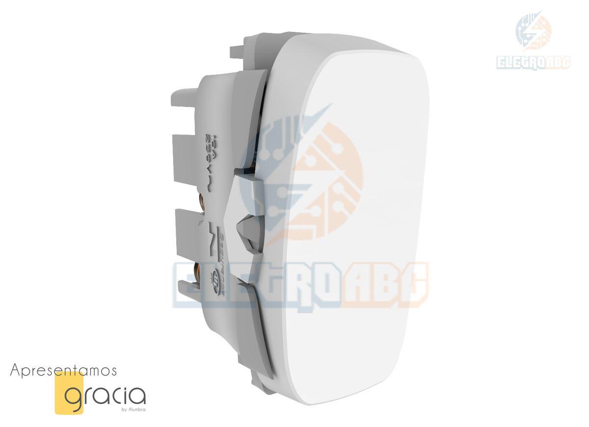 INT.simples 10A-250V BR GRACIA 85308