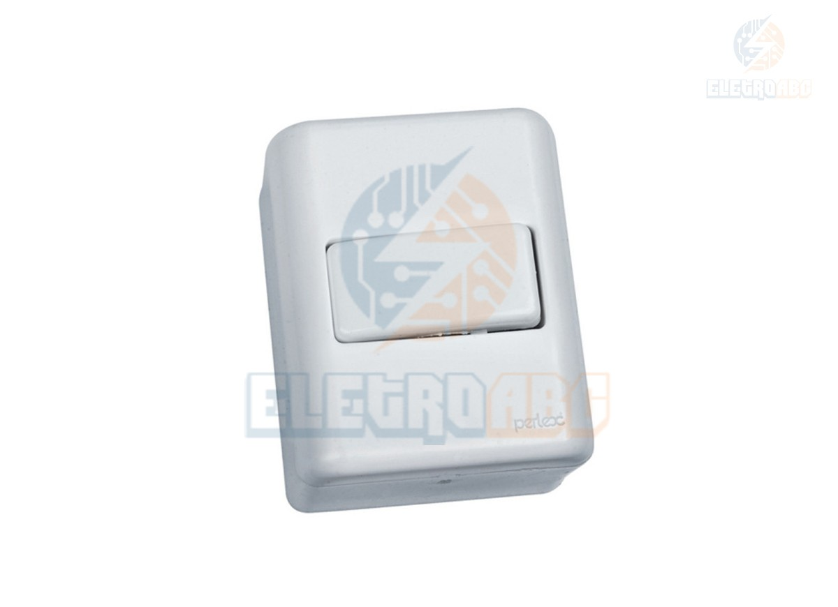 Interruptor simples 10A 250V Sobrepor sist. X