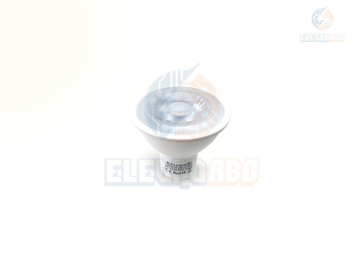 Lâmpada LED dicróica GU-10 3,2 watts BF 6500K
