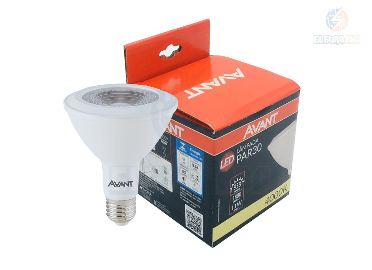 Lâmpada LED PAR 30 11W 4000K AVANT