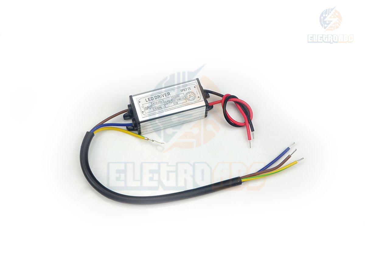 LED DRIVER Para refletor LED 10W