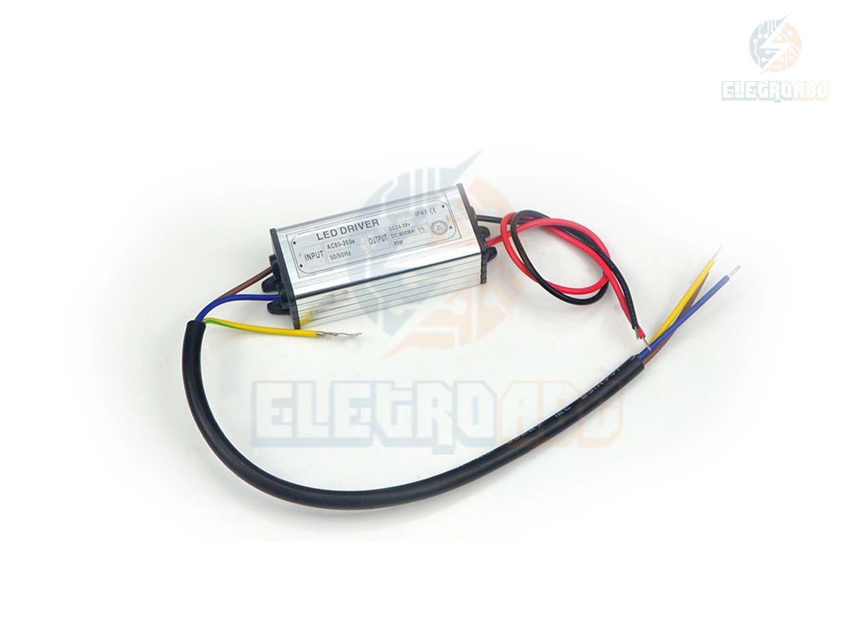 LED DRIVER Para refletor LED 20W