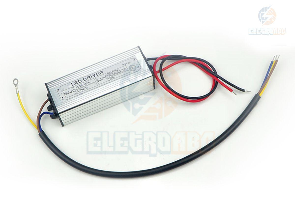LED DRIVER Para refletor LED 50W
