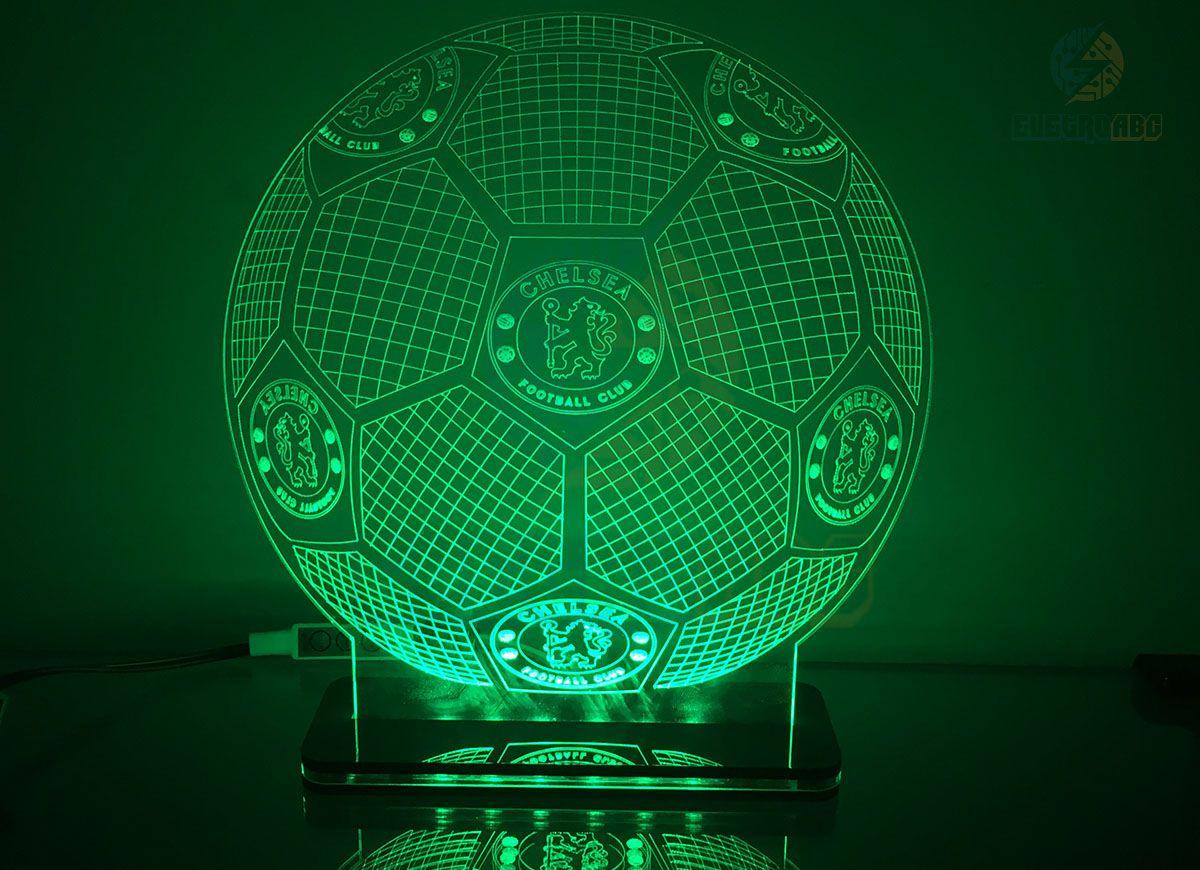 Luminaria/Abajur 3D ILUSION Personalizado