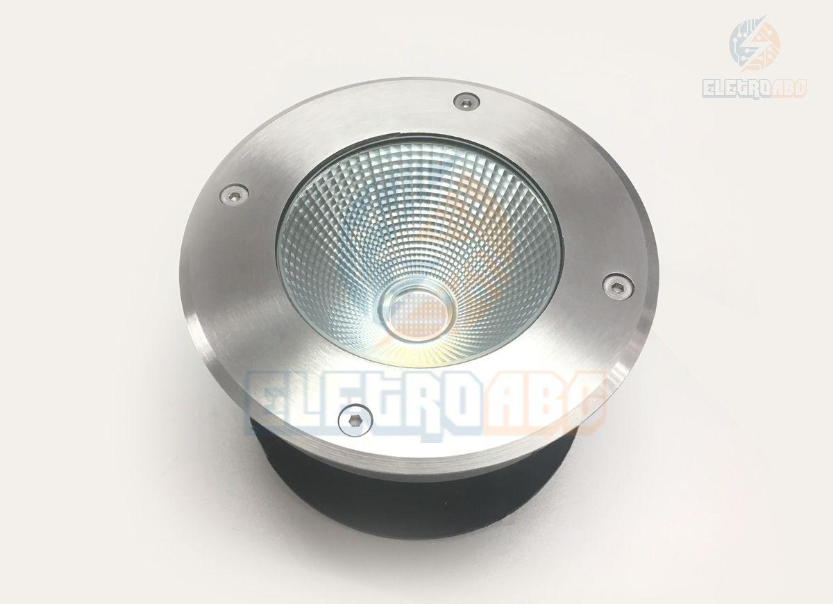 luminária embutida de solo/piso LED COB 10w VD