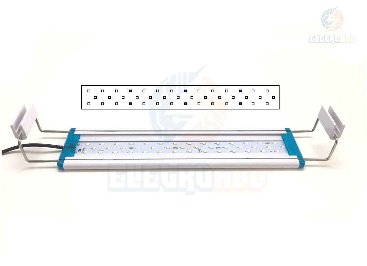 Luminária LED para aquários de 30-40 cm 5W