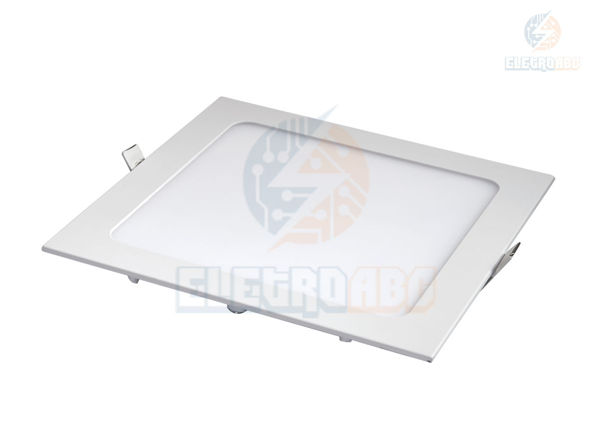 Luminária LED Slim 12 watts BF quadrada