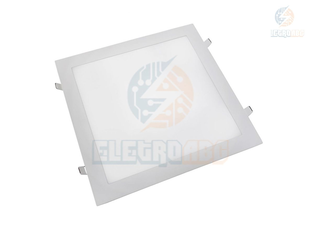 Luminária LED Slim 36 watts BN Quadrado