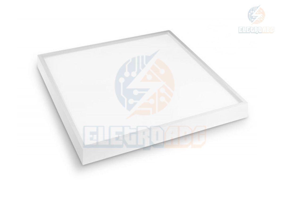 Luminária LED Sobrepor 36 watts Quadrada 6500K