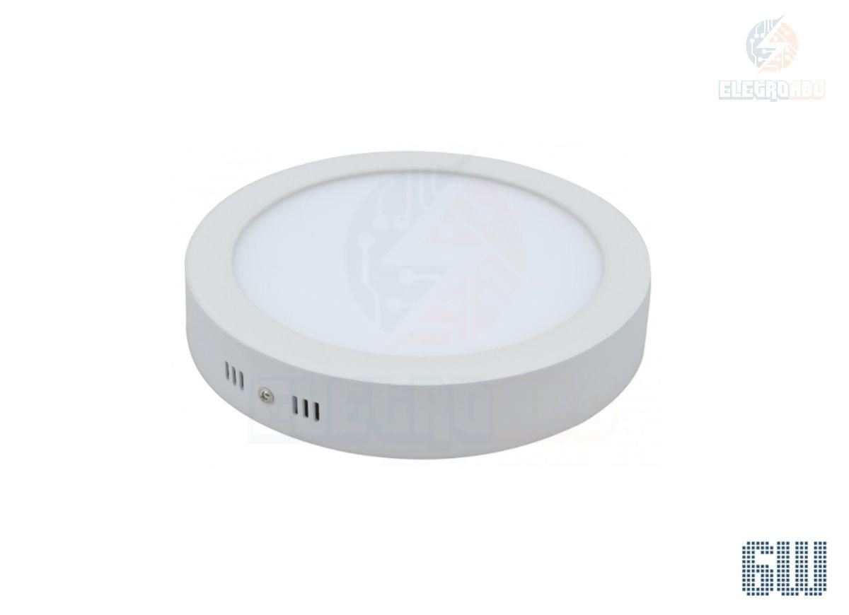Luminária LED sobrepor 6 watts BF Redondo