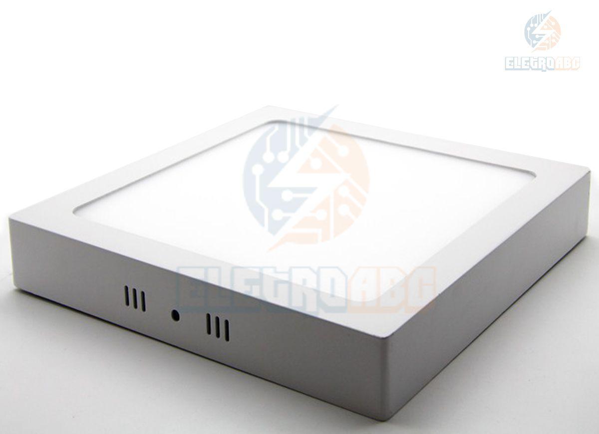 Luminária LED sobrepor 6 watts BQ quadrada