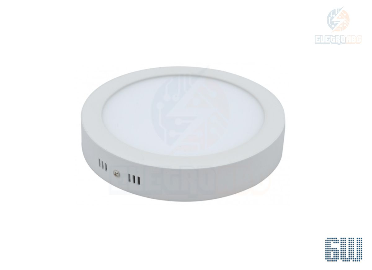 Luminária LED sobrepor 6 watts BQ Redondo