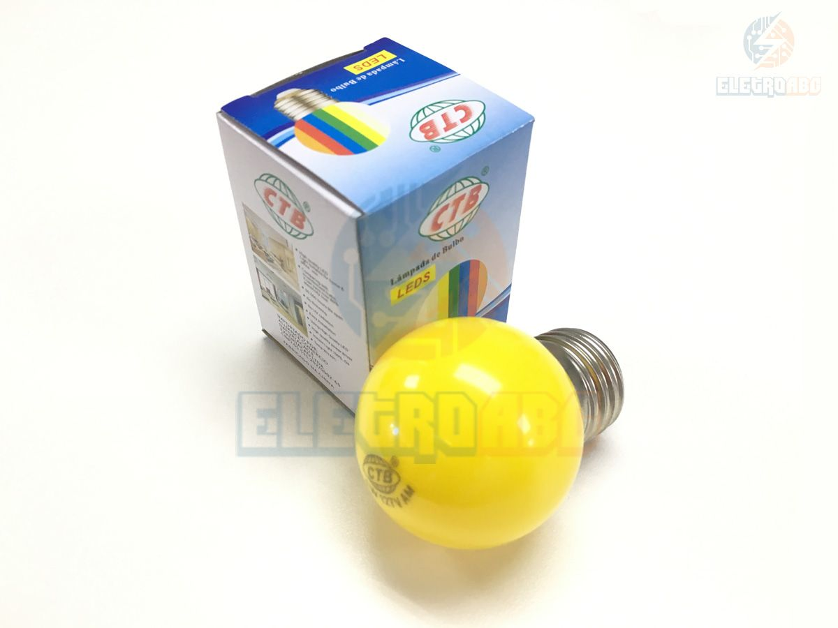 Mini Bulbo LED BLBP 127V Amarelo