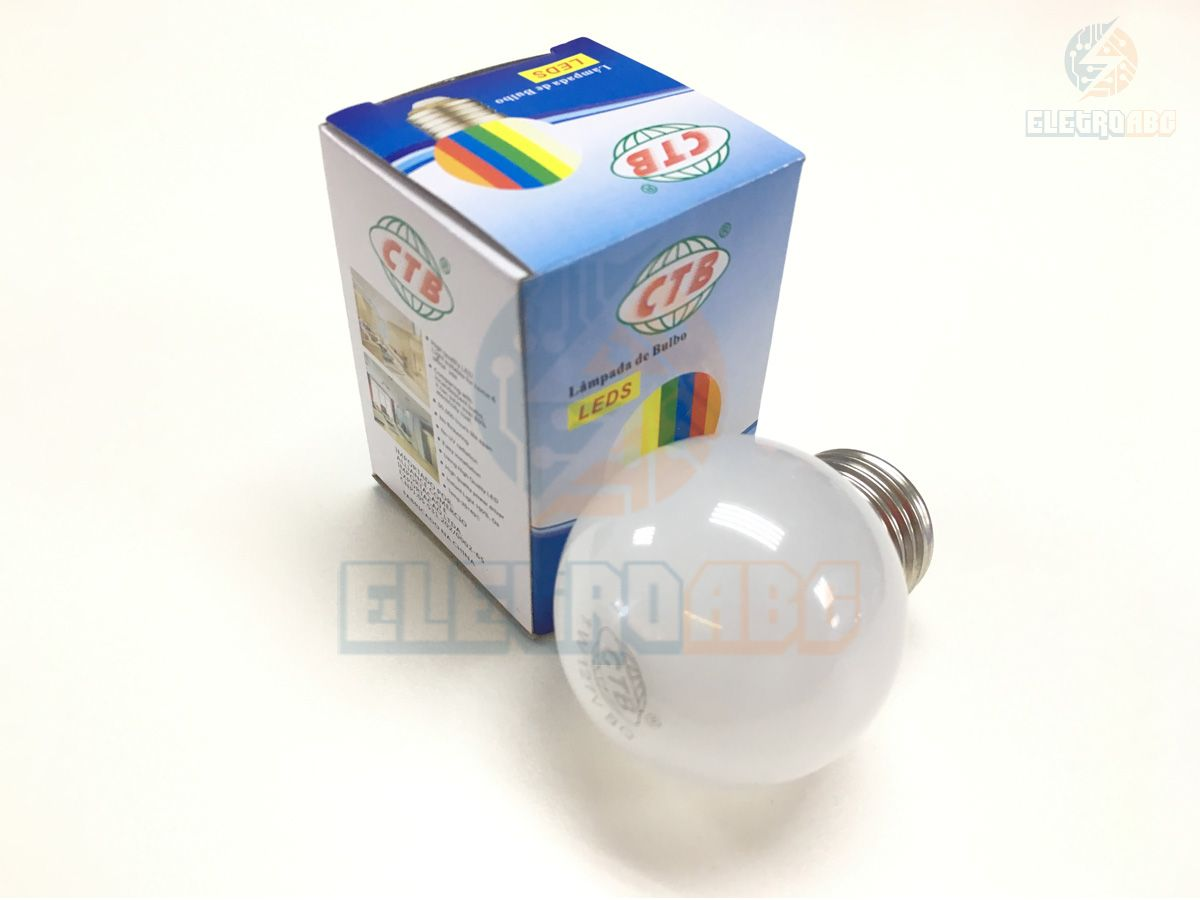 Mini Bulbo LED BLBP 127V BQ
