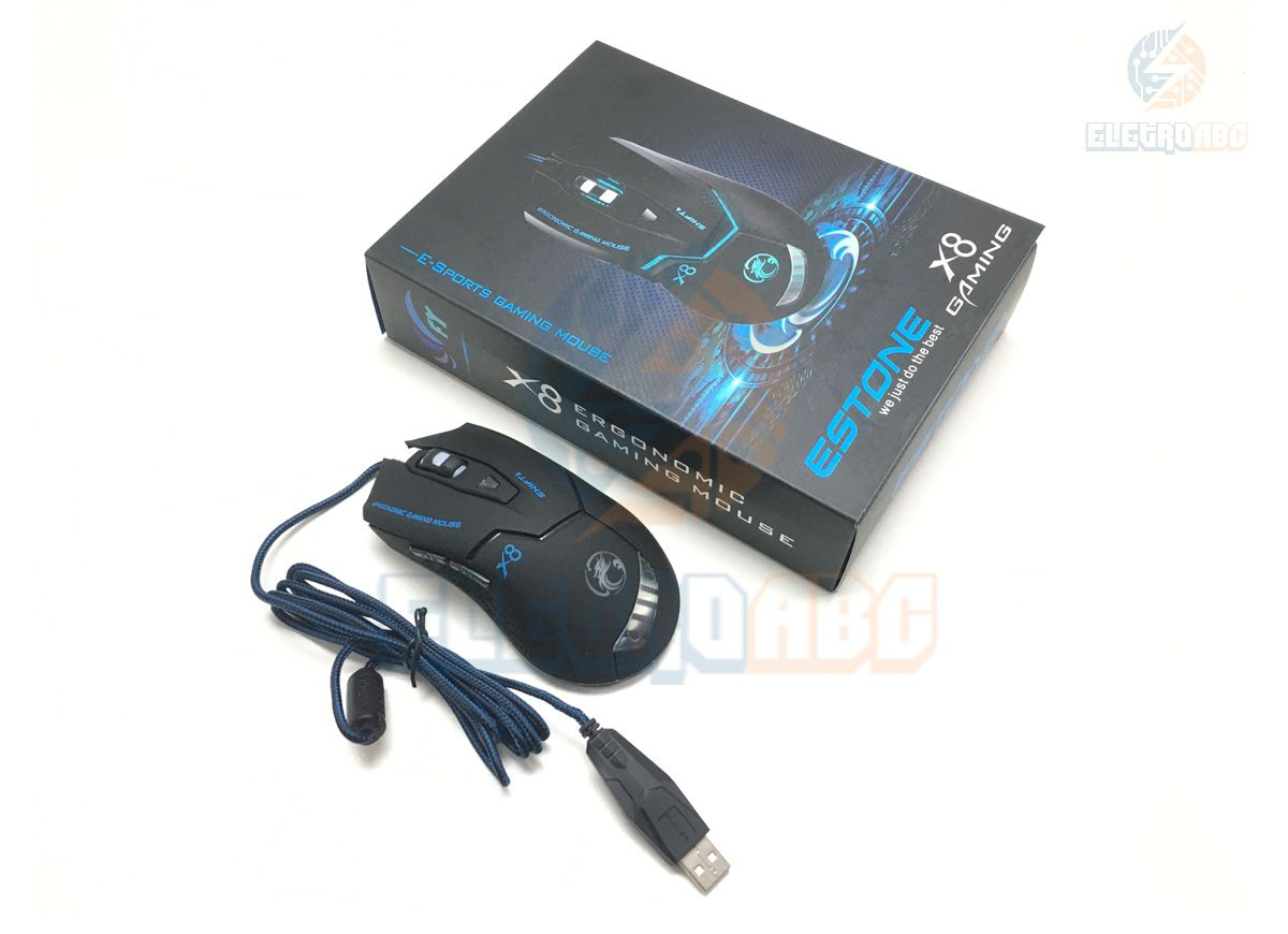 Mouse Gamer X-8