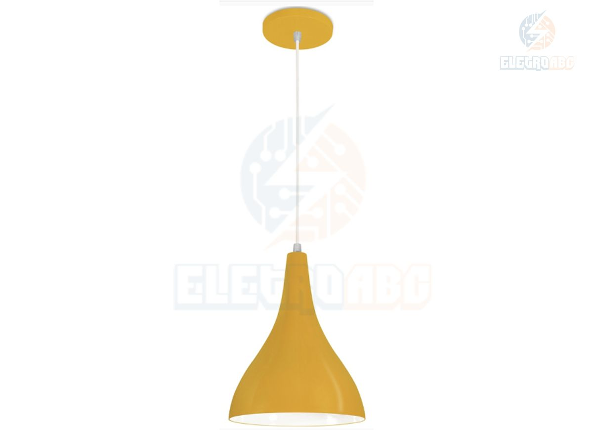 Pendente Minas Gerais Cone MD 160x250mm AM