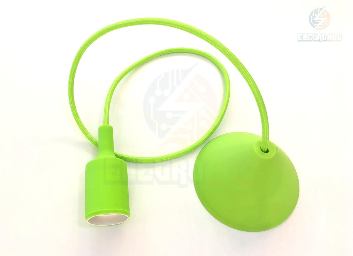 Pendente Orbital Silicone Verde