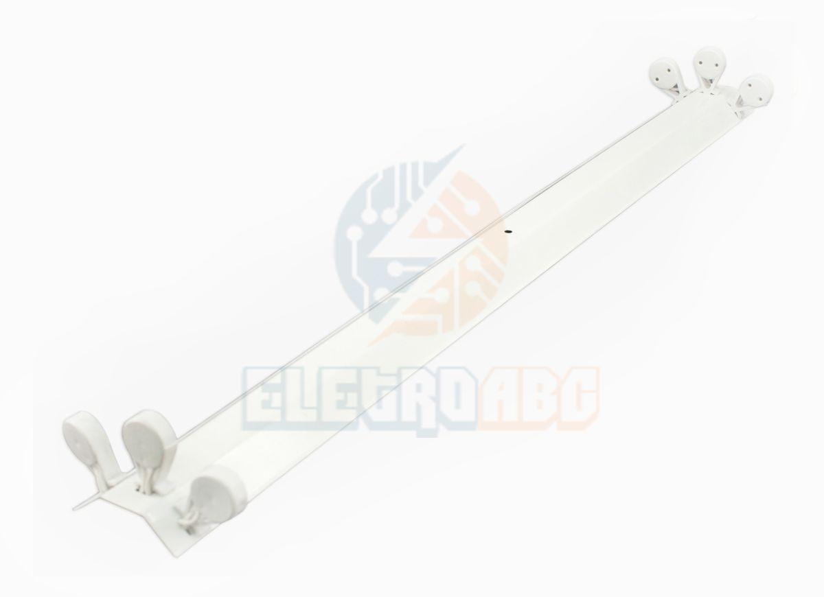 Perfil Comercial/Calha 9W LED Tube