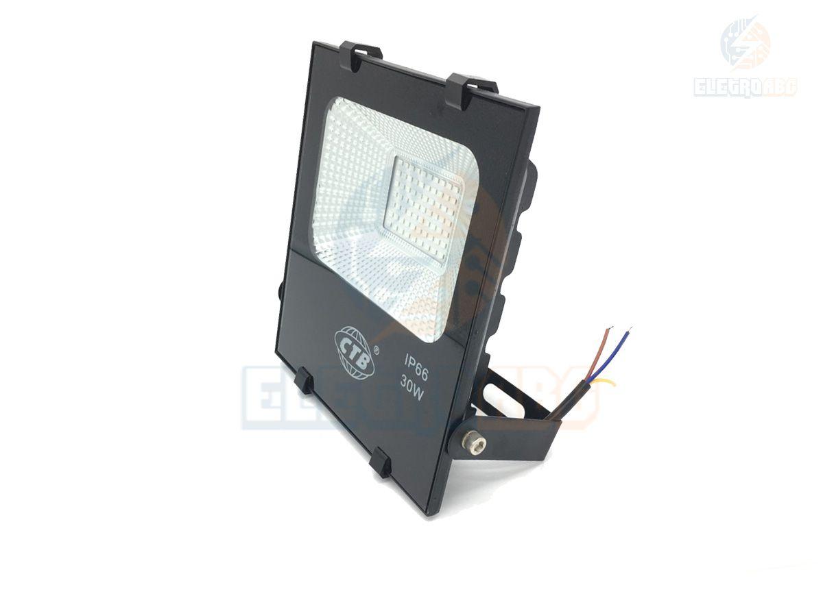 Refletor LED Slim SMDMICROLED 30W Verde Tipo E