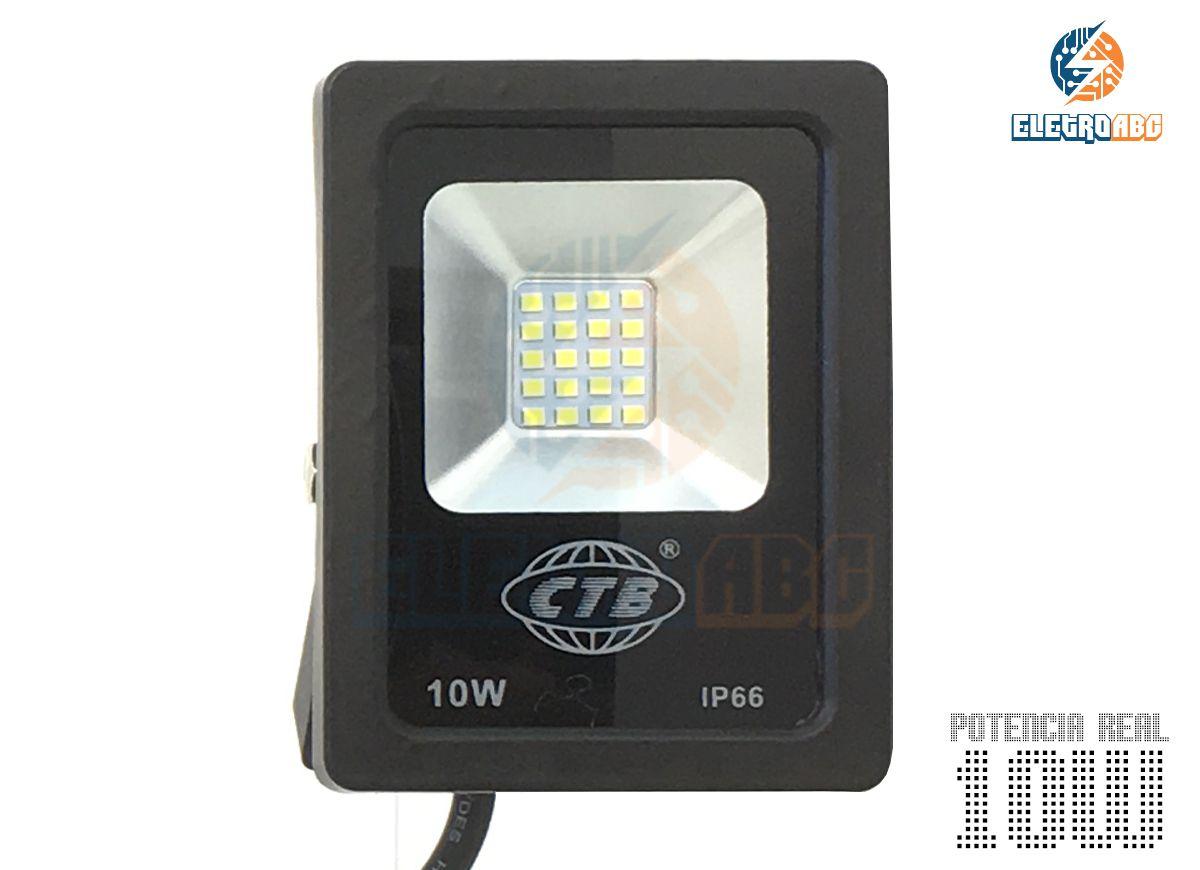 Refletor Slim SMD5630 LED 10W BQ