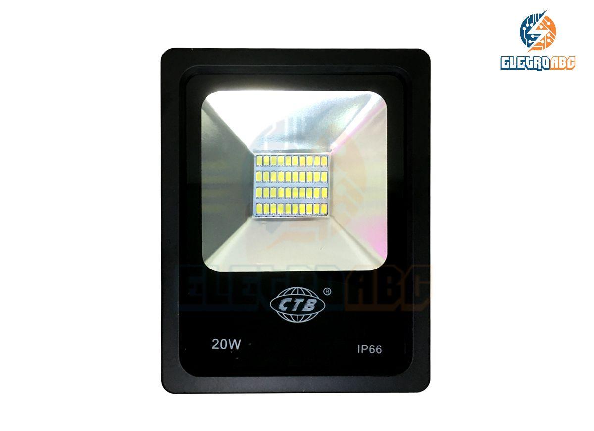 Refletor Slim SMD5630 LED 20W BQ