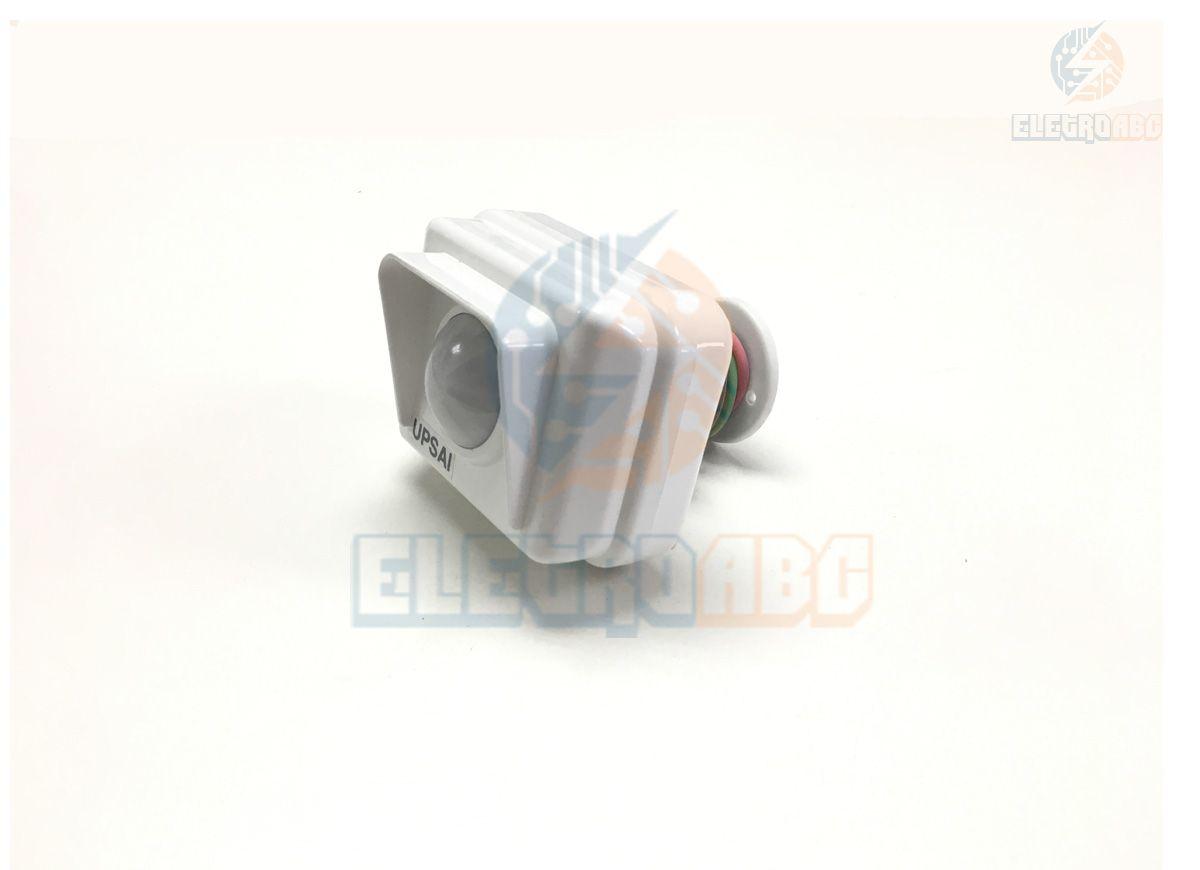 Sensor de presençaC/Foto UPSAI EXT 5seg~4MIN