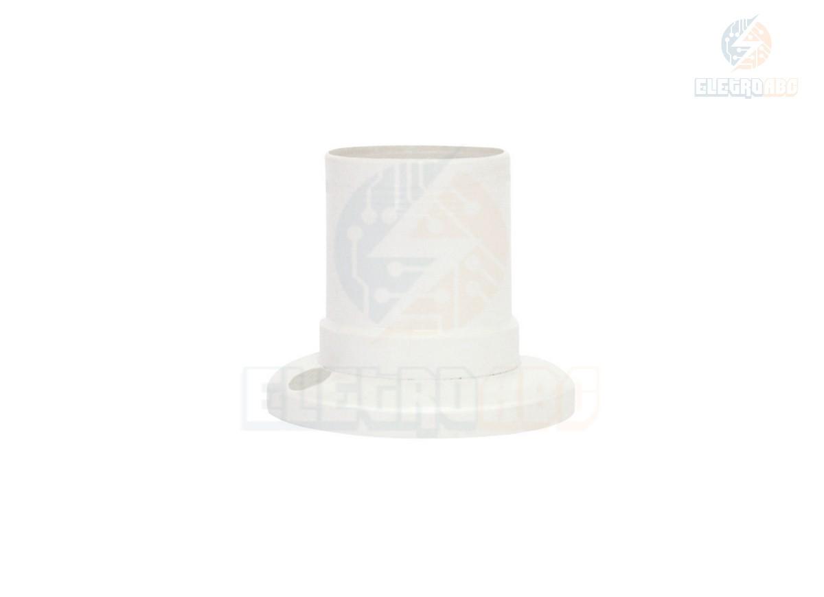Soquete teto fixo E27 Foxlux Branco