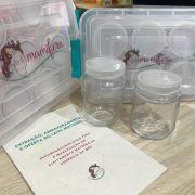 Kit de armazenamento de leite materno - Mamífera