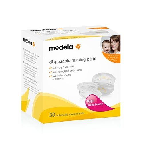 Absorventes descartáveis para seios Medela – 30 unidades
