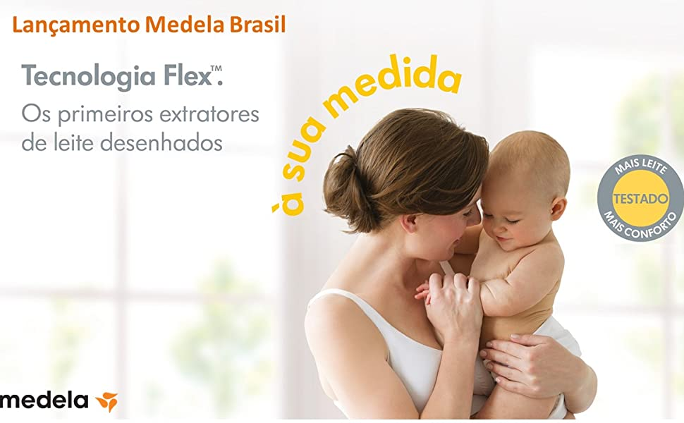 Bomba extratora de leite materno elétrica dupla - Medela Swing Maxi Flex