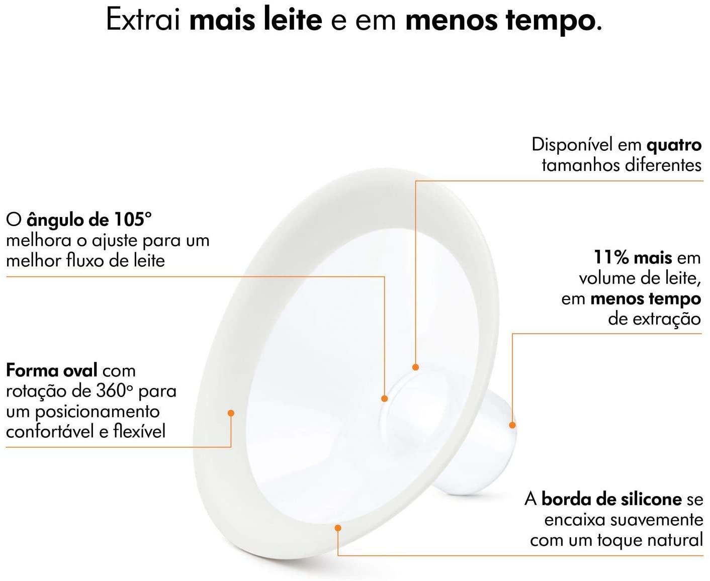 Bomba extratora de leite materno manual – Medela Harmony Flex