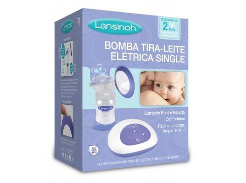 Bomba Tira-Leite Elétrica Single - Lansinoh