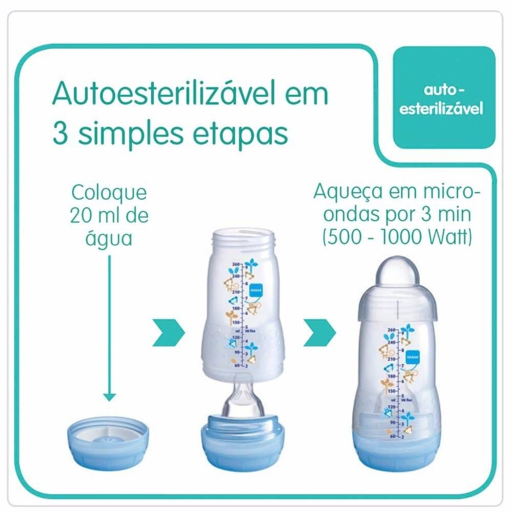 Mamadeira Easy Start 130ml – MAM