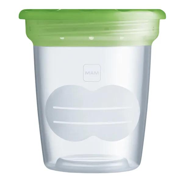 Potes de armazenamento para leite materno e outros alimentos – MAM