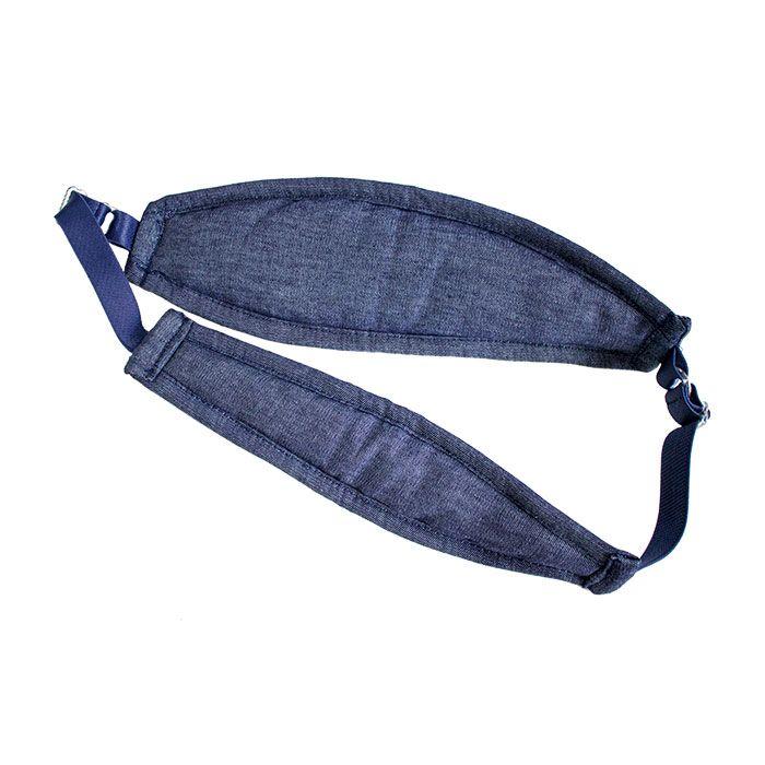 Tipóia de amamentação Samba Calcinha - Jeans Escuro