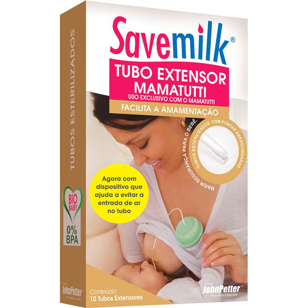 Tubo Extensor Mamatutti - Relactação e Suplementação Alimentar - 10 unidades