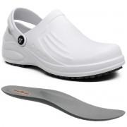 Sapato Profissional Enfermagem Antiderrapante Soft Works Bb61 Branco