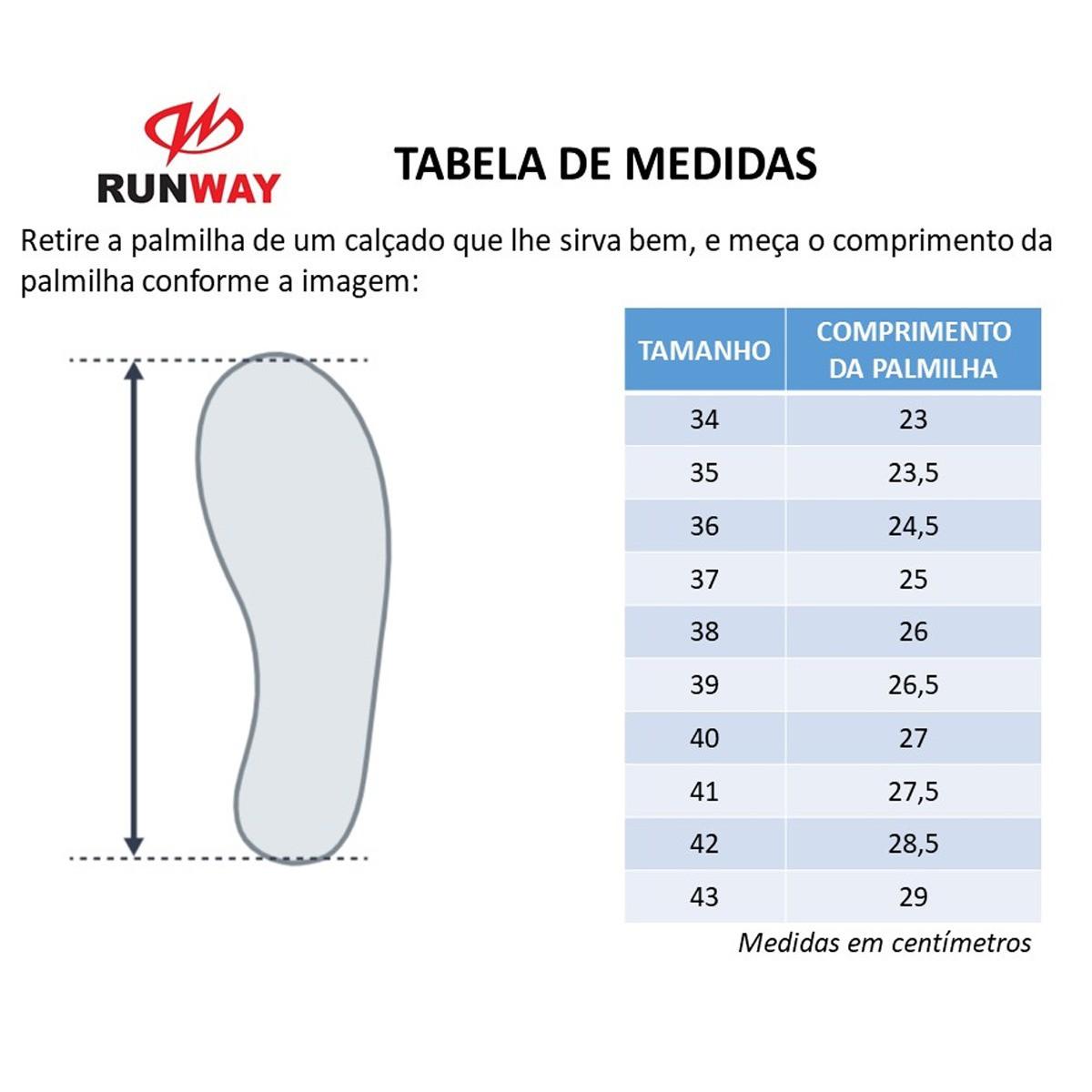 Tênis Esportivo Runway Soft Academia Caminhada Leve Barato