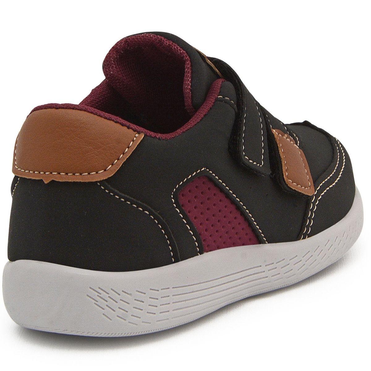 Tênis Sapatênis Infantil Bebê Velcro Calce Fácil Pockey Kids