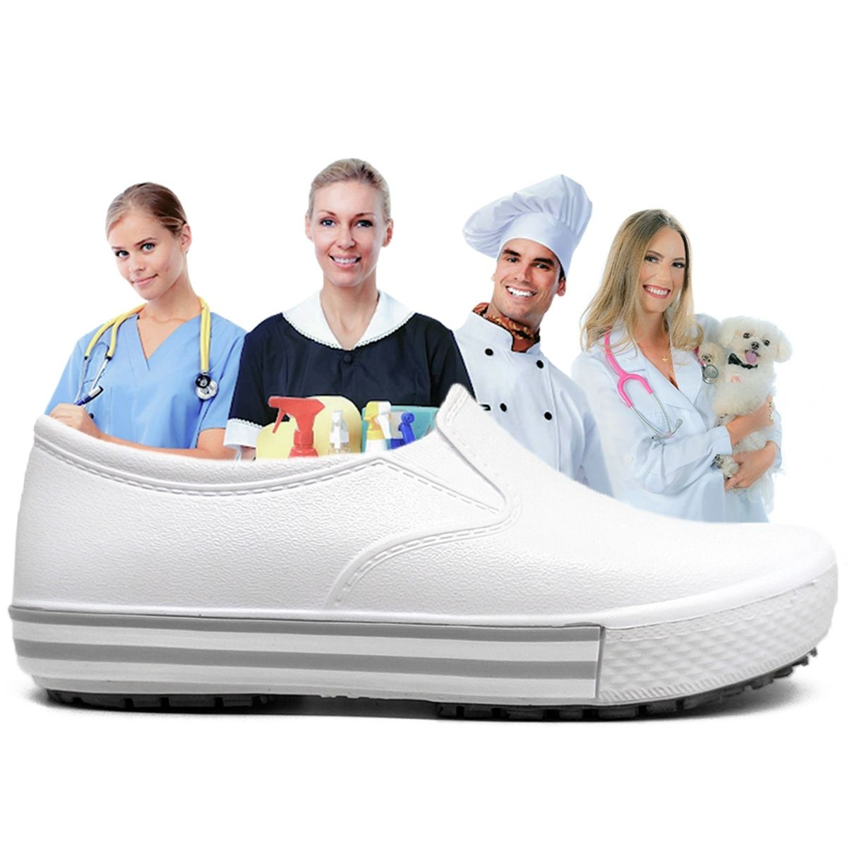 Tênis Soft Works Profissional Bb 80 Enfermagem Ca 37212