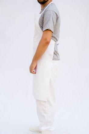 Avental Brim Branco