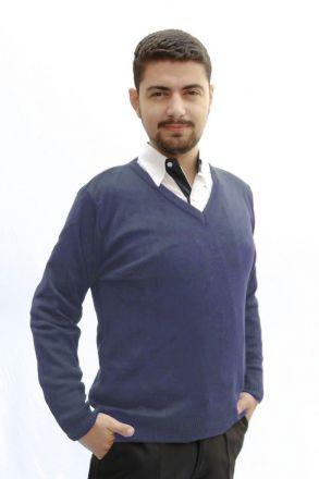 Blusa de Lã Masculina Marinho